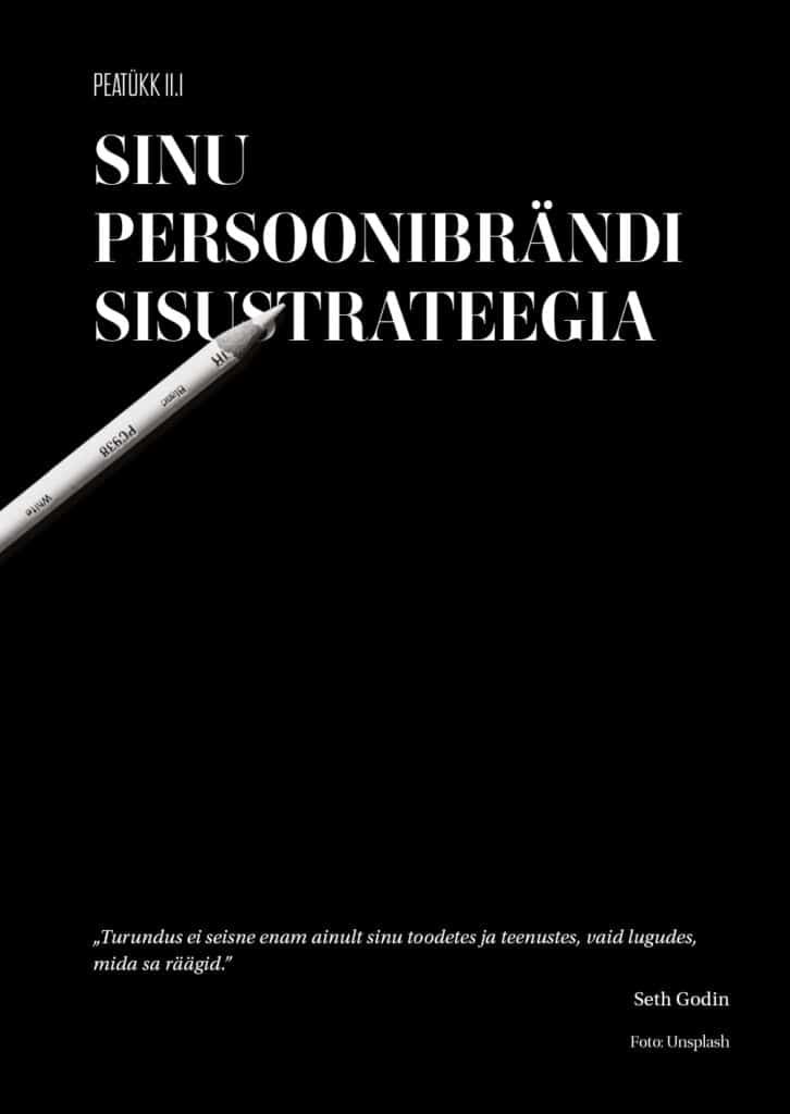 persoonibrändi sisustrateegia