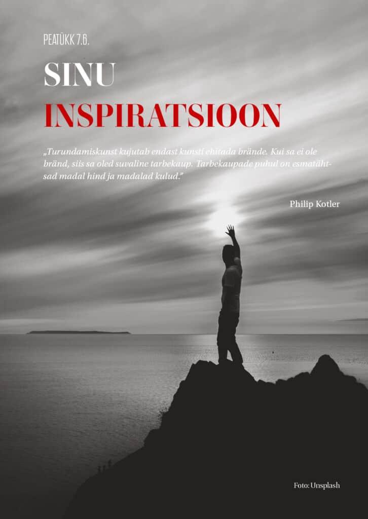 sinu inspiratsioon ja persoonibränd