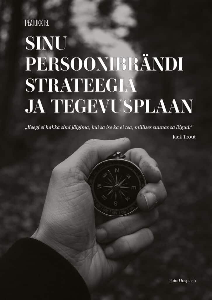 sinu persoonibrändi strateegia ja tegevusplaan